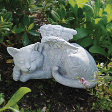 plastic resin cats garden ornaments ebay