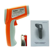 nubee dual laser optical focus temperature gun non contact
