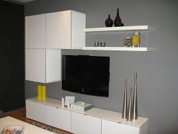 ikea besta tv storage and gray walls ideas wall units design