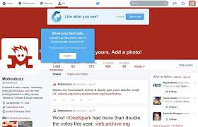 layout of twitter page new profile page layout on twitter motionbuzz web design