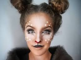 Deer Halloween Costume Baby Deer Makeup Ideas Halloween Popsugar Beauty