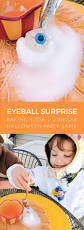 fun kids halloween party game eyeball surprise merriment design
