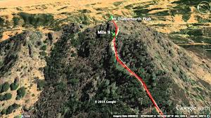 Mt Diablo State Park Map by Day Hike Mount Diablo Double Summit Via Mitchell Canyon Youtube