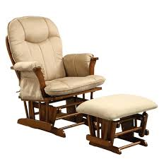 Glider Recliner With Ottoman Ottomans Shermag Glider Rocker And Ottoman White Combo Assembly