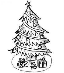 pine tree coloring pages the 25 best christmas tree coloring page ideas on pinterest