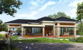 Single Story House Plan One Story House Plans Single Storey House Plans House Design