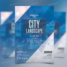 city landscape u2013 free party psd flyer psd flyers pinterest