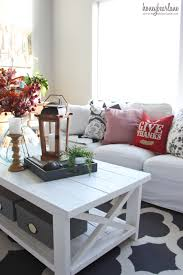cozy fall living room update pretty things pinterest best