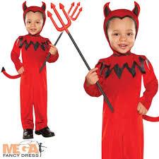 2 3 Halloween Costume Cute Red Devil Toddler Age 1 2 3 Halloween Fancy Dress