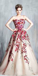 colorful wedding dresses trubridal wedding 24 colorful wedding dresses for non