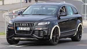 Audi Q7 Modified - mysterious audi q7 test mule is intriguing
