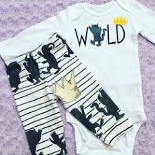 where the things are bodysuit baby boy clothes baby fashion