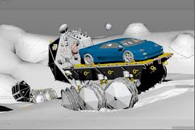 cartoon lamborghini humster 3d car rendering competition lamborghini for moon museum