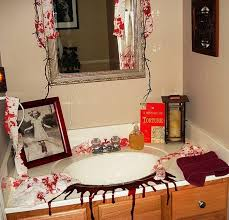 theme decor for bathroom decorations bathroom to scare away your guests