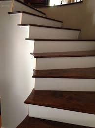 Stairs With Laminate Flooring Spiral Staircase With Custom Treads Cooper Floors