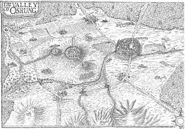 Map Of Mansfield Ohio by The Valley Of Osrung Joe Abercrombie