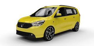 renault lodgy modified 2013 dacia lodgy 3d cgtrader