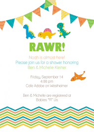 top 10 dinosaur baby shower invitations for you thewhipper com