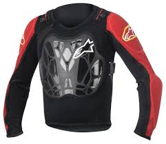 alpinestars motocross gear alpinestars youth bionic jacket revzilla