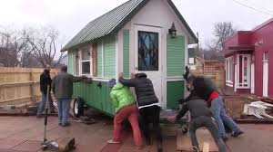 build tiny houses for idaho homelesss by matthew