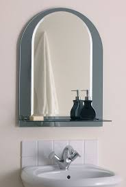 bathroom gold sunbrust leather mirrors with shelves scandinavian