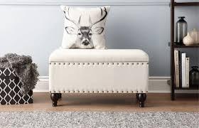 shoe storage ottoman bench home inspirations design