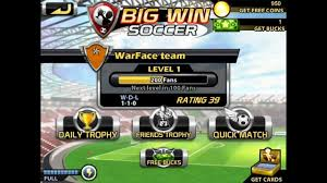 big win football hack apk big win soccer hack for unlimited energy hack