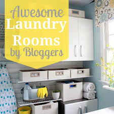 Pinterest Laundry Room Decor Remodelaholic Home Sweet Home On A Budget Awesome Laundry Rooms
