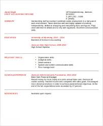 staff accountant resume sle staff accountant resume 9 exles in word pdf