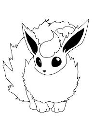 printable pokemon coloring pages eevee evolutions 3272 pokemon