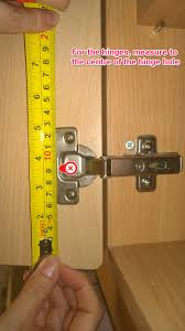 how to measure for replacement kitchen cabinet doors just doors