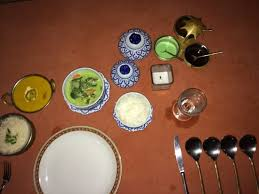 cuisine gap different tableware for or indian cuisine picture of apsara
