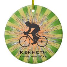 bicycle ornaments keepsake ornaments zazzle