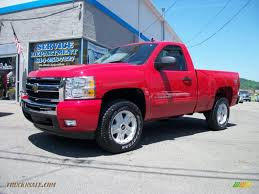 2010 chevrolet silverado 1500 lt regular cab 4x4 in victory red