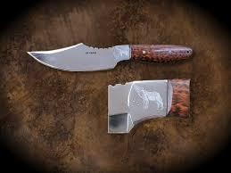 joe duket studio engraved knives