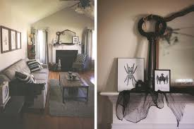 halloween decorations skeletons black and white halloween decorating ideas the homespun hostess