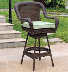 Outdoor Swivel Bar Stool Outdoor Bar Stools Patioliving
