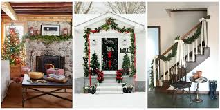 House And Home Christmas Decorating by 55 Best Christmas Garland Ideas Decorating With Holiday Garlands
