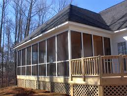 Shed Roof Screened Porch Charlotte Nc Designers Choice Com Screen Porches Screen Porch