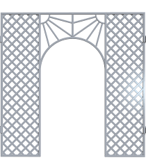 trellis archway by shadows stock on deviantart