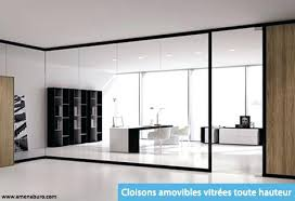 cloison verre bureau cloisonnement bureau cloisons amovible vitrees tout hauteur