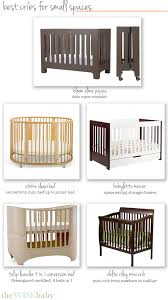 Best Mini Crib Best Cribs For Small Spaces The Wise Baby