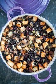 thanksgiving stuffing recipie wild rice stuffing recipe simplyrecipes com