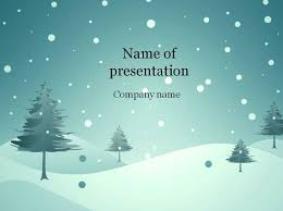 winter powerpoint template colors color code percentage cold