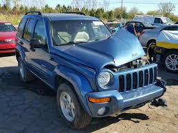 2003 blue jeep liberty 1j4gl58k03w713940 2003 blue jeep liberty on sale in mi detroit