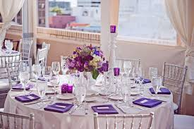 centerpieces for party tables 37 beautiful purple party decorations
