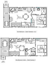 one bedroom cabin floor plans bargara caravan park one bedroom cabins bargara
