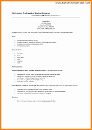 Free Resume Samples Templates Simple Resume Examples For College Students Simple Student Resume