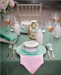 Wedding Table Themes Pink Green Wedding Table Setting Fab Mood Wedding Colours