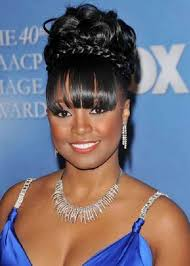 wedding hairstyles for african american brides